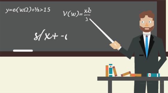 Teaching Maths Class