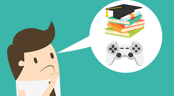 How To Balance Video Games And Studying?